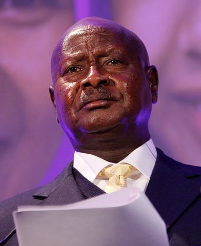 Yoweri Museveni, prezydent Ugandy od 1986 roku