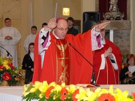 Biskup Wojciech Polak w 2010 roku