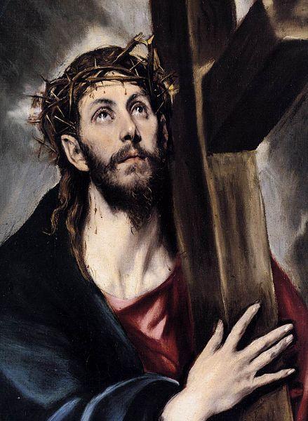 """El Greco, """"Chrystus niosący krzyż"""" (po 1580 r.)"""