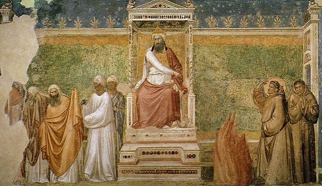 Rok 1219. Święty Franciszek z Asyżu składa wizytę u Malika al-Kamila, sułtana Egiptu. Gdy wokół trwa piąta krucjata, święty bez lęku wyrusza do wrogiego przywódcy, by opowiedzieć mu o Chrystusie.
