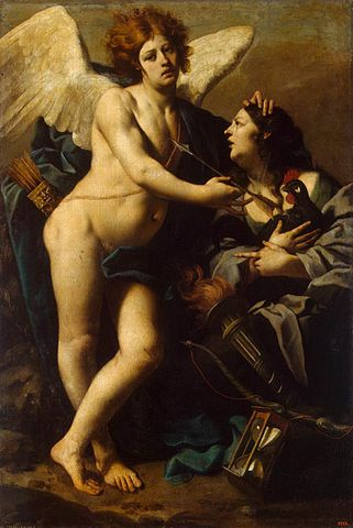 "Luca Ferrari, ""Alegoria zazdrości"" (po 1640 r.)"