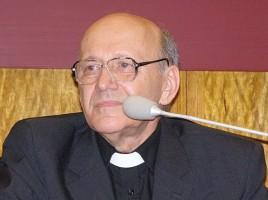 Ks. prof. Michał Heller (24 kwietnia 2010 r.)