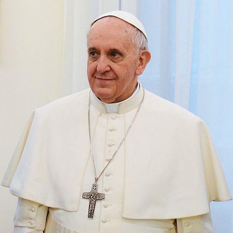 Franciszek w marcu 2013 r.