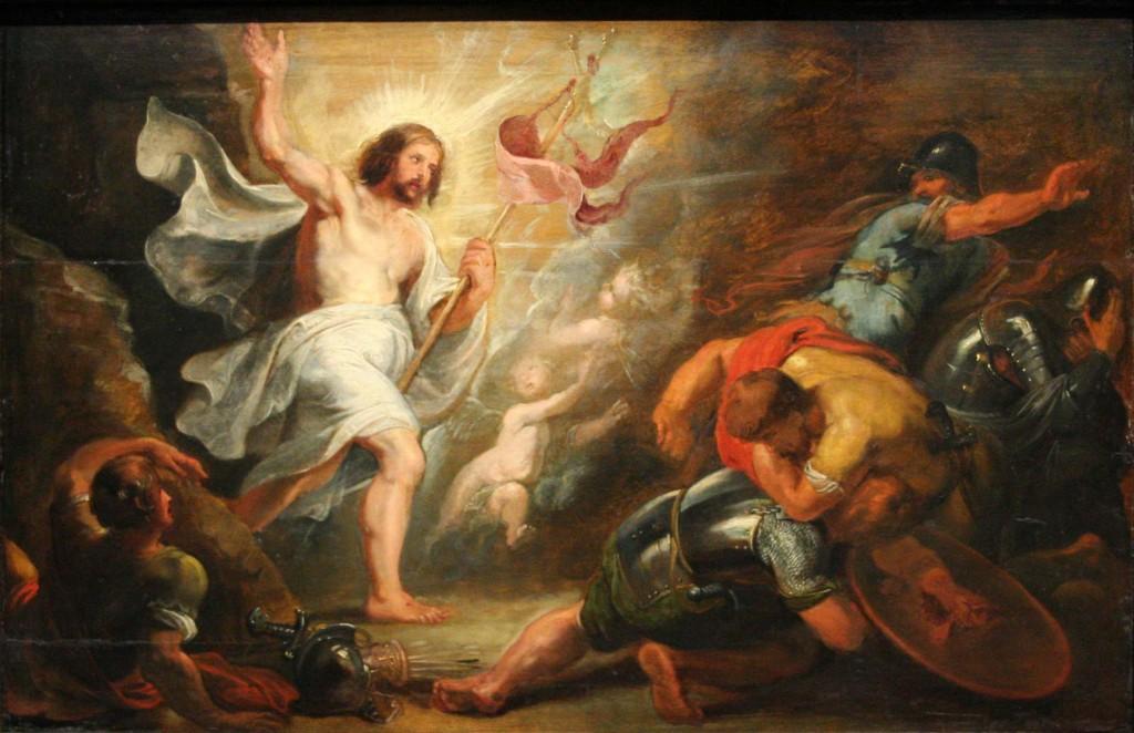 """Triduum Paschalne: Peter Paul Rubens, """"Zmartwychwstanie Chrystusa"""", ok. 1616 – ok. 1619"""