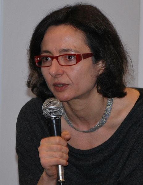 Dr Agnieszka Graff, jedna z czołowych przedstawicielek ruchu gender w Polsce. Fotografia z 2011 roku.